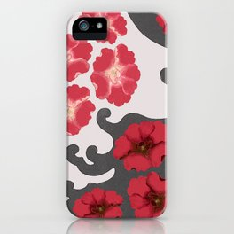 Red blossom dream iPhone Case