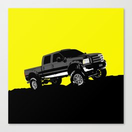 pickup truck Canvas Print
