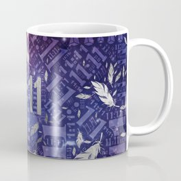 Eleven Eleven Numerology Pattern Angel Feathers #1 Coffee Mug