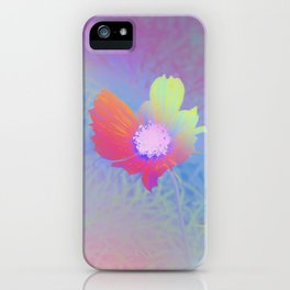 Holographic Flower Photography iPhone Case