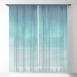 Magical Blues Sheer Curtain