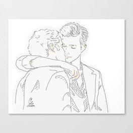 klaine Canvas Print