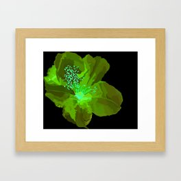 State Flower Series-WV Framed Art Print