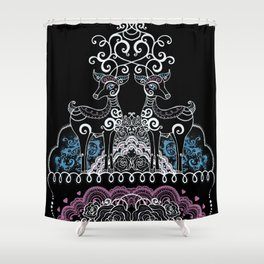 Dear Oh Deer Shower Curtain