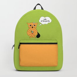 Beatrice. The cat that thinks... Party Backpack