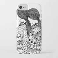 twins iPhone & iPod Cases featuring Twins by La Thai