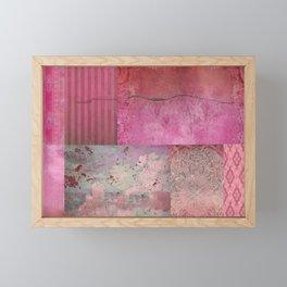 Patchwork Framed Mini Art Print