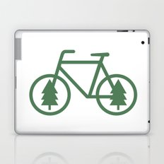 Pacific Northwest Cycling - Bike, Bicycle, Portland, PDX, Seattle, Washington, Oregon, Portlandia Laptop & iPad Skin