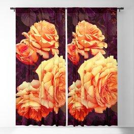 Dzeltenā roze Blackout Curtain
