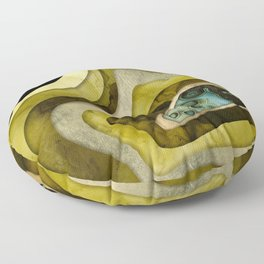 Abstract Agate II Floor Pillow
