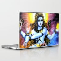 shiva Laptop & iPad Skins featuring Shiva by nuzzocozzamara