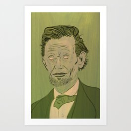 Lincoln: Ghoul King Art Print