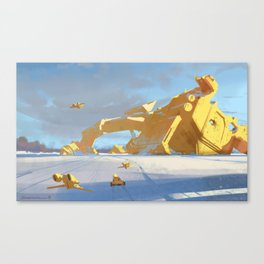 Fallen God Canvas Print