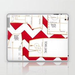 Seaside Stripes Slopers Laptop & iPad Skin