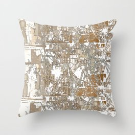 Steel factory Throw Pillow