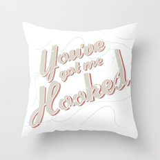 HOOKED Throw Pillow