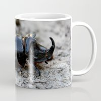 beetle Mugs featuring Beetle by iGan
