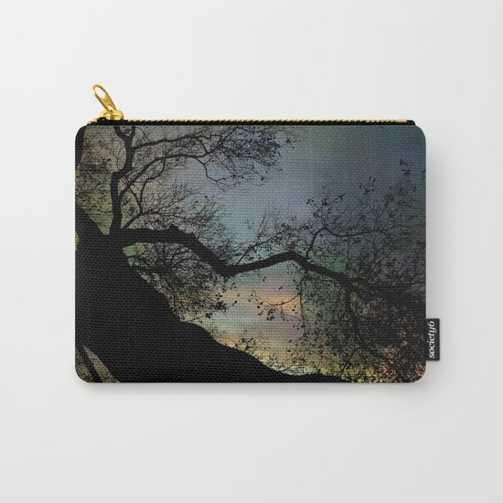 Night Fall by The Tree Carry-All Pouch