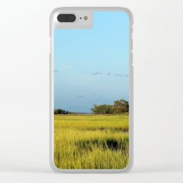 Island View Clear iPhone Case