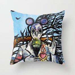 Infinity Land/Opposites Throw Pillow