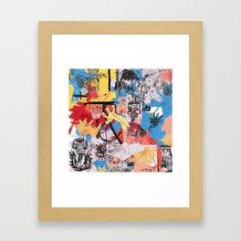 57 Great Jones Street Framed Art Print