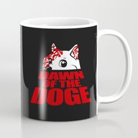 doge Mugs featuring Dawn of the Doge by Tabner's
