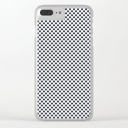 Total Eclipse Polka Dots Clear iPhone Case