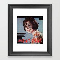 M E A T T R A P Framed Art Print