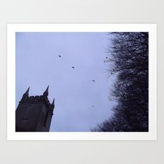 Winter Gothica Art Print