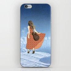Guitar Girl iPhone & iPod Skin