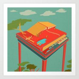 Organ House Art Print