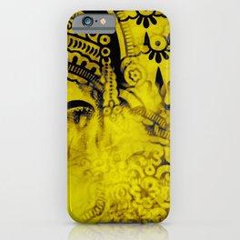 Kaleidoscope Psychedelic Ganesh Pattern iPhone Case