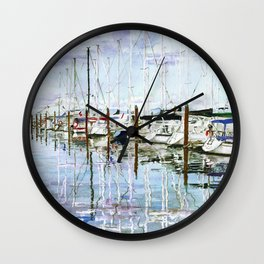 Schooner Cove Wall Clock