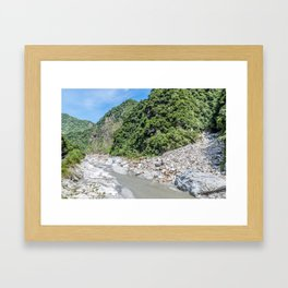 Taroko National Park Framed Art Print