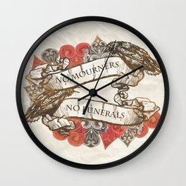 NM.NF Wall Clock