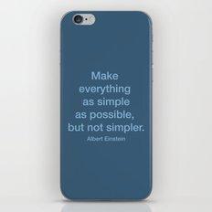 Simpler iPhone & iPod Skin