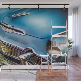 Ready for a Saturday Night Cruise in My Desoto Wall Mural