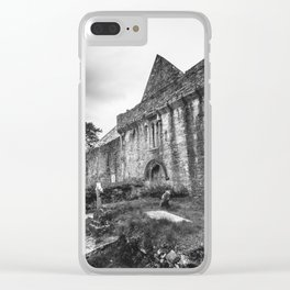 Muckross Abbey Clear iPhone Case