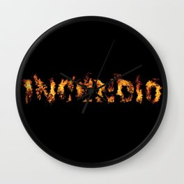 Harry Potter Incantation Collection : Incendio Wall Clock