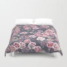 Carnations Pattern Duvet Cover