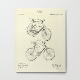 Bicicycle-1898 Metal Print