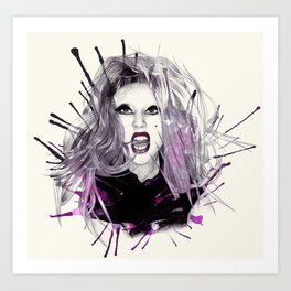 BTW Art Print