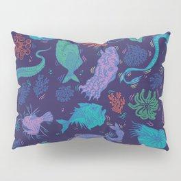 Creatures Of the Deep Sea Pillow Sham