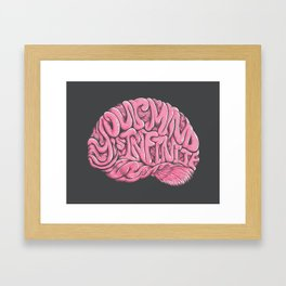 Your Mind is Infinite Framed Art Print