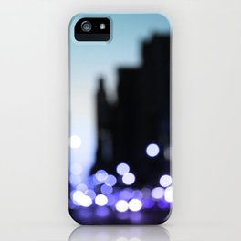 Big lights will inspire you iPhone Case