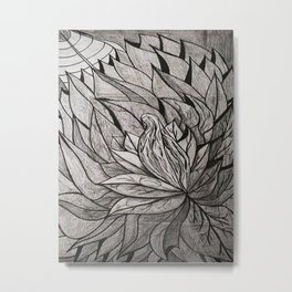 ATRAPADA Y SOLA Metal Print