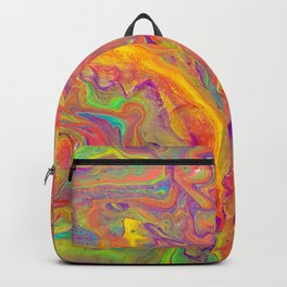 Unicorn psychedelic ice cream Backpack
