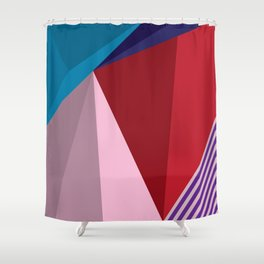 Abstract Modernist Shower Curtain