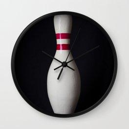 Bowling Pin Wall Clock