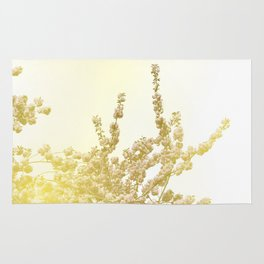 Sunlit Cherry Blossoms - Dreamy Floral Photography - Flower Art Prints, Apparel, Accessories... Rug